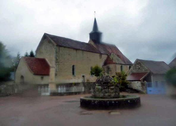 Vézelay-Le Puy en Velay 2010- Saint Père -Marigny l'Eglise (20km) (2)