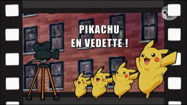 Pikachu en vedette !