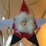 Etoiles Père Noël à suspendre