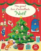 Mon grand livre d'autocollants Noël