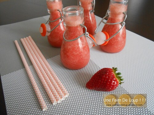 Smoothie Fraise Orange & Banane