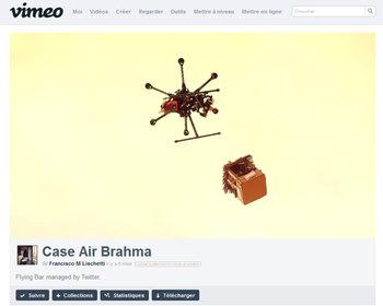 le drone livreur de bière.