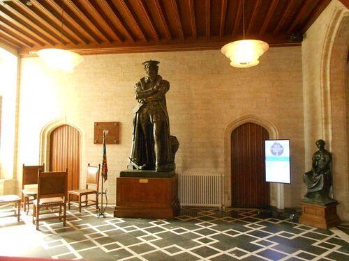 Beffroi de Saint-Nicolas - intérieur - Copernic