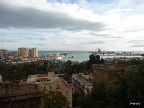 le port de Málaga