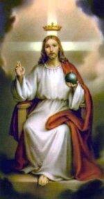 Jésus , Christ Roi .