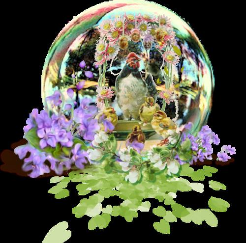 Elements clusters Pâques