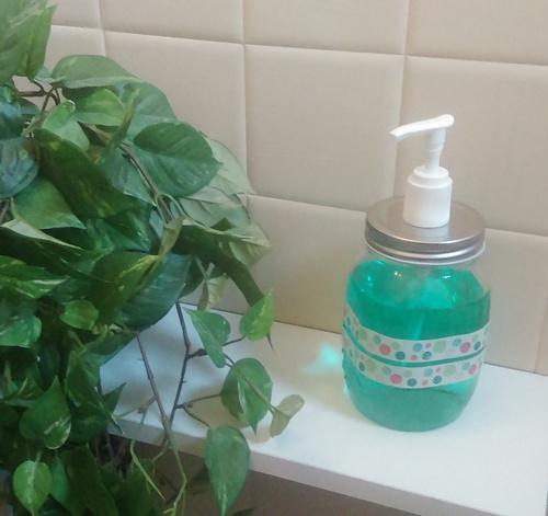 Tuto : Un distributeur de savon vintage