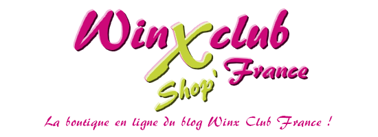 Winx Club France Shop' logo (police AR BERKLEY)
