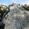 La croix frontière numéro 260, et une autre croix