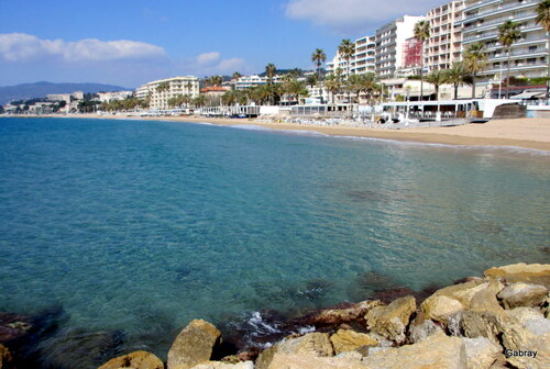Cannes: promenade en bord de mer