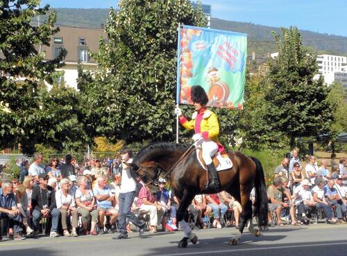 fête des vendanges a Neuchâtel (Suisse)
