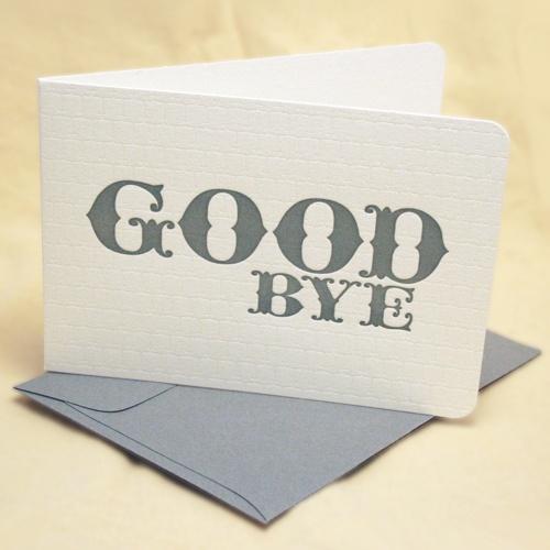 G. Hasta la vista Baby !