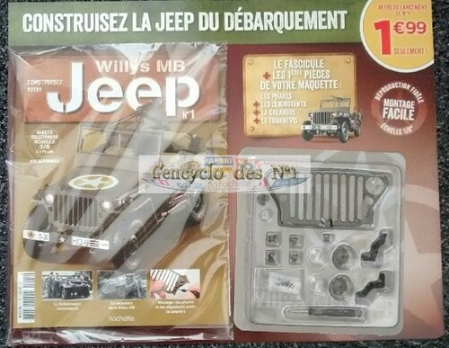 N° 1 Construisez votre Jeep willys MB - Test