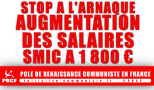 Macron arnaque les travailleurs et refuse d'augmenter le SMIC, les salaires, les retraites (IC.fr-13/12/18)