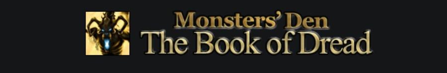 Monsters' Den : Book of Dread