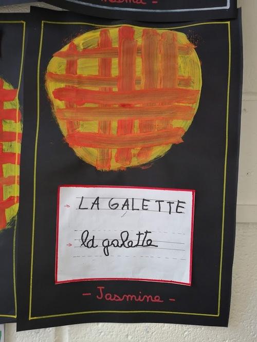 La galette de la classe de S.