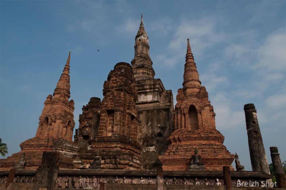 Les chédis de Wat Mahathat