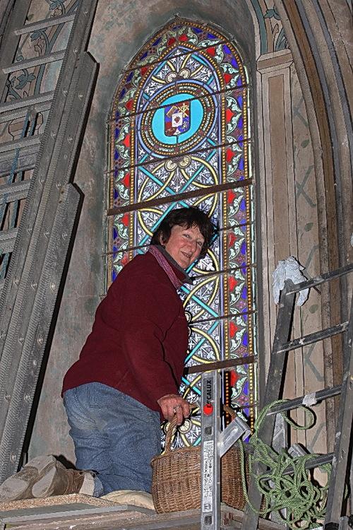 Restauration des vitraux de la Chapelle Ouest