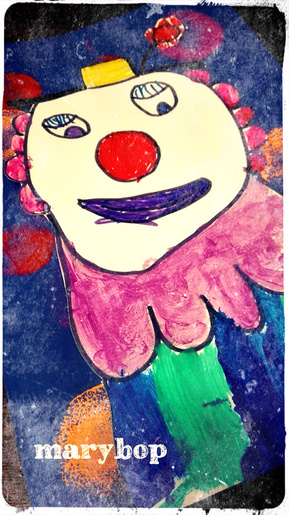 Nos clowns :) - Arts Visuels -