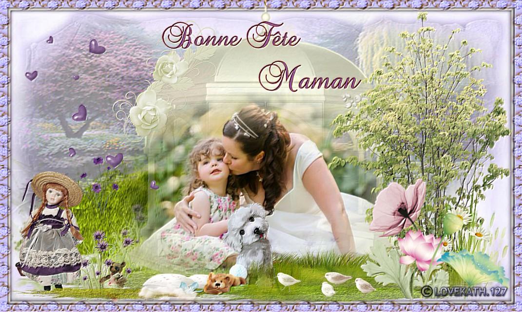 Bonne fête à toutes les mamans du monde !