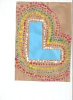 La lettre aborigène de mon fils, en GS
