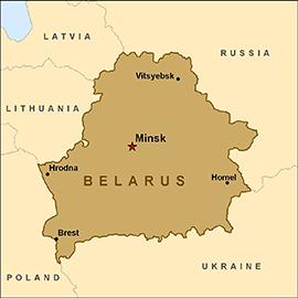 Map - Belarus