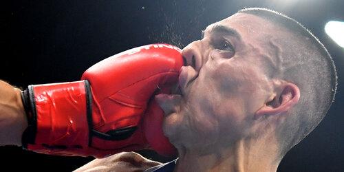 Le boxeur...