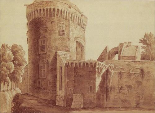 Avant,  quelques mots sur les origines du château de Dinan...