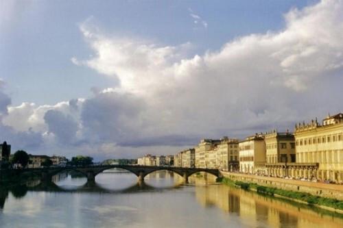 michel ange, ponte vecchio, arno
