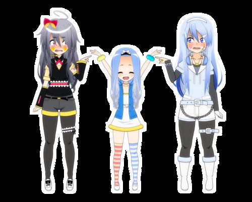 [Kisekae - Pokemaloid x Pokemon] Crystal & Glace's daughter :wtf: