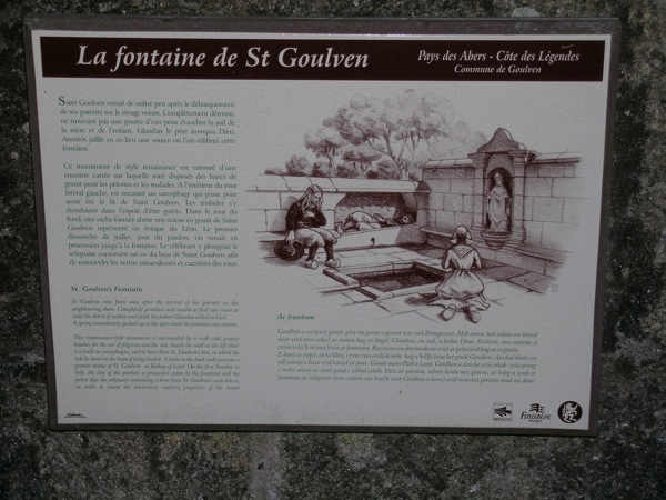 Goulven, fontaine Saint Goulven