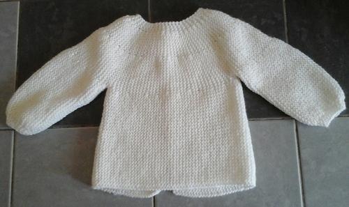 Brassière tricot