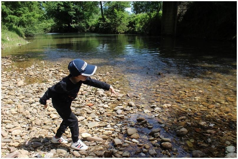 Petit tour à la rivière