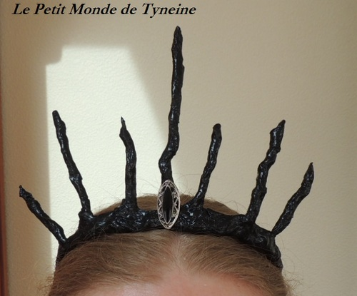 "Couronne ""Méchante reine"" - Regina - Once upon a time"