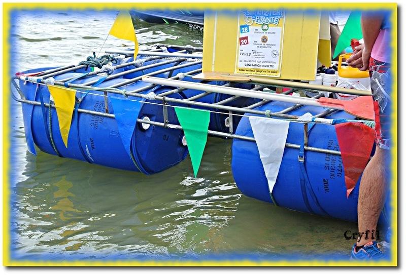 Des embarcations insolites