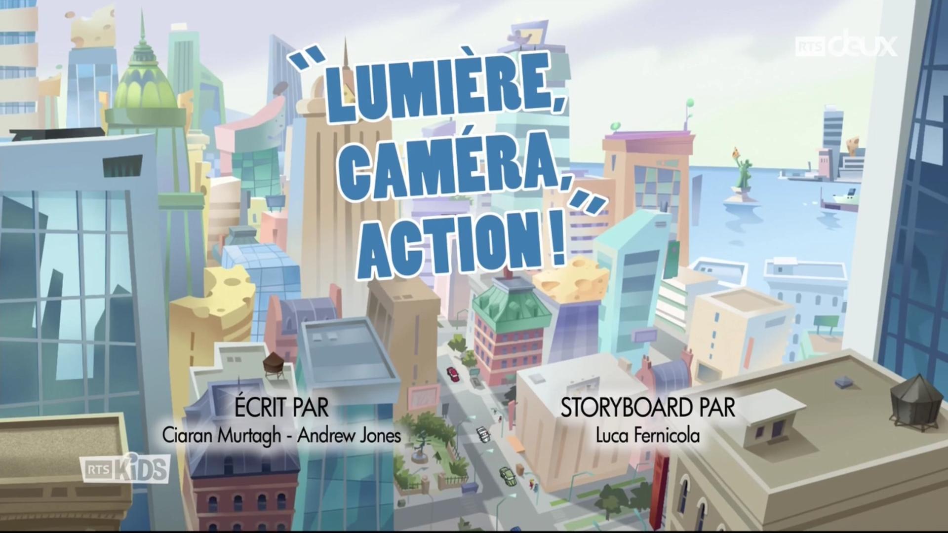 Geronimo Stilton - 3x25 - Lumière, caméra, action !