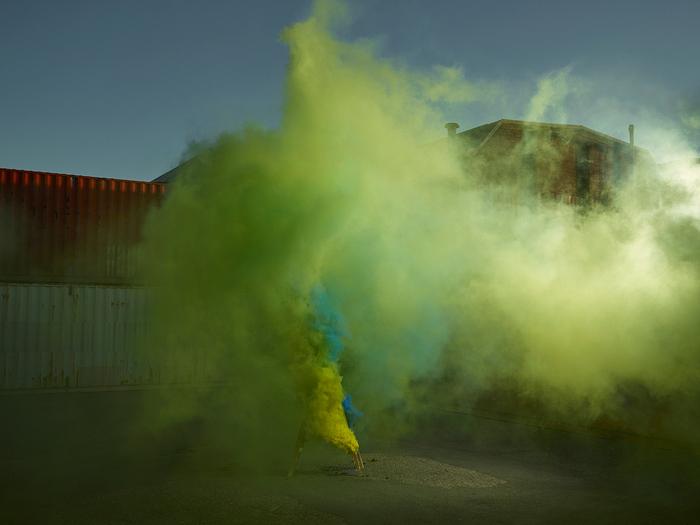 PHOTOS DE FUMEES COLOREES