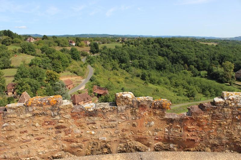 Paysage vu du château