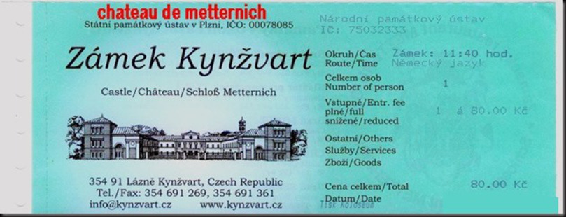 CHATEAU LAZNE KYNZVAERT DE METTERNICH (47)
