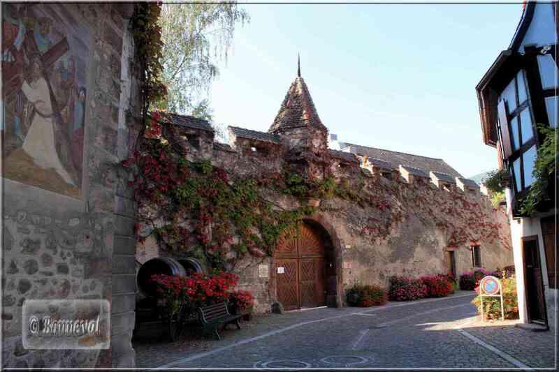 Alsace route des vins de Colmar à Ribeauvillé Kientzheim château Schwendi