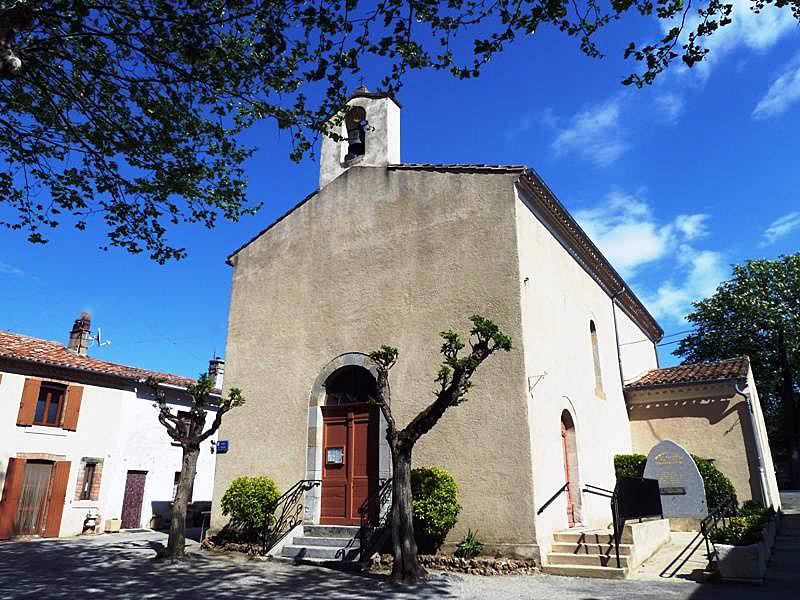 Photo à Vaudreuille (31250) : L'église - Vaudreuille, 311474 Communes.com