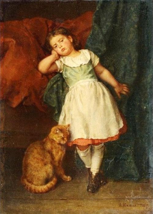 Peinture de : Ludwig Knaus