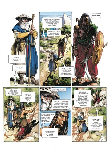 Le corbeau des batailles de Jean-Pierre Pécau & Igor Kordey & Leonard O'Grady - Keltos, tome 1