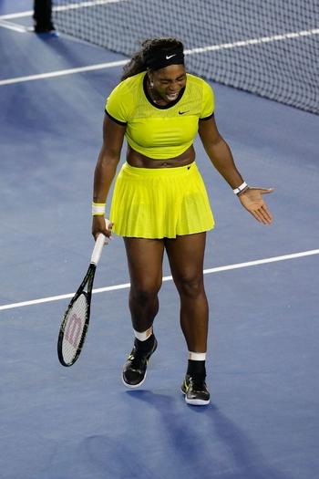 Serena n'y arrive pas