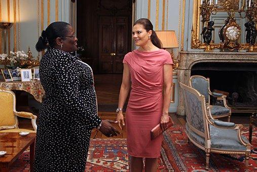 Victoria et la présidente