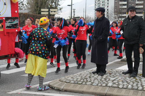06 MARS 2016 CARNAVAL DE CLUSES AVEC  LE GROUPE ZUMB & FIT ET UNITALIA (2)