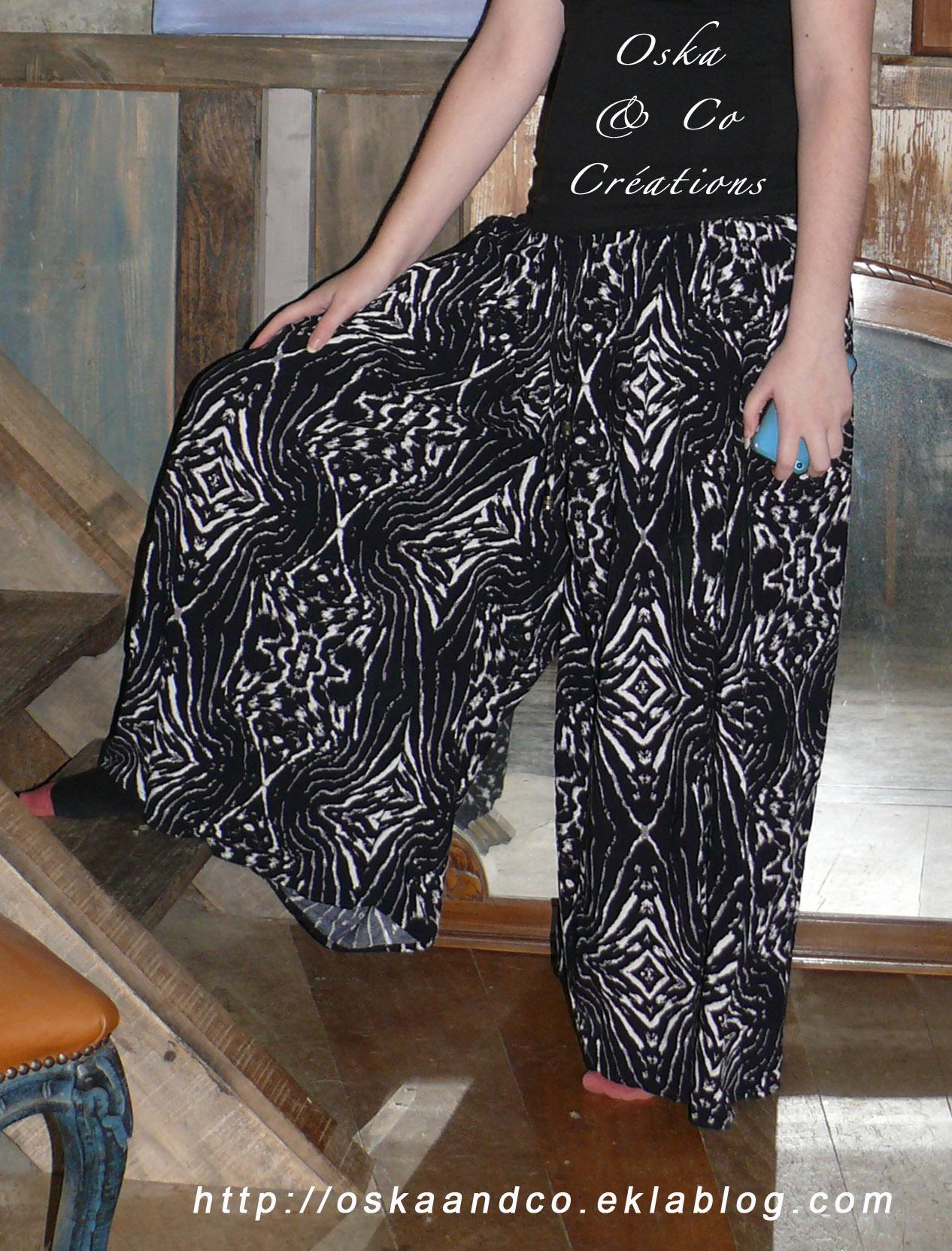 7494f91bbd32 Tuto transformer jupe longue en pantalon palazzo (ou jupe culotte ...