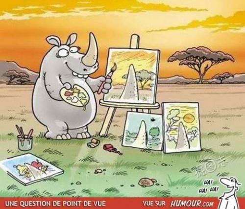 Rhino et oiseau ! - Lenaïg, en tercets ou haïkus