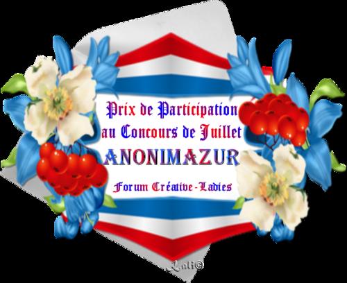 Compétition  Juillet 2016 Forum Créative Ladies
