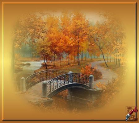 AUT0012 - Tube paysage d'automne